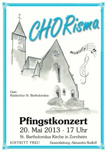 Plakat Konzert 2013