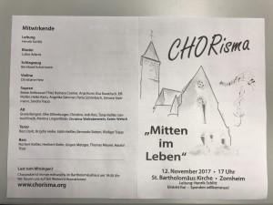 CHORisma Konzert