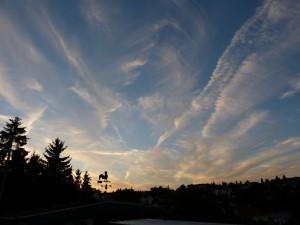 Himmel über Zornheim