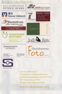 Unterstützung und Sponsoren